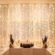 icicle curtain lights safe low voltage waterfall window