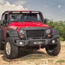 pink jeep liberty wrangler jk spartacus front and rear bumper 11544 60