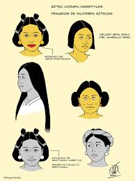 aztec hair style dapart part 1 and 2 of aztec women hairstyles rational progress