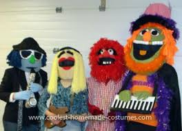 Muppet Halloween Costumes Muppets Costumes 1 Mayhem Band Large Balloons Costumes