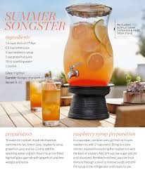 summer cocktail recipes tgif summer cocktail recipe from pottery barn