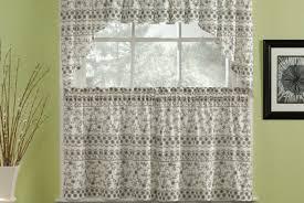 black kitchen curtains walmart full size of valance curtains