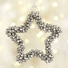 silver jingle bell ornament jingle bells ornament and