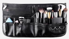 Makeup Artist Belt High Quality Black Professional Makeup Belt Bag Makeup Bag