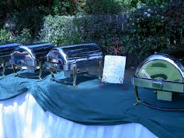 cozy backyard altadena wedding ritz catering southern