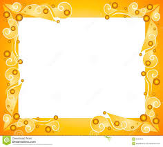 photo frame gold picture frame with a decorative pattern stock photography