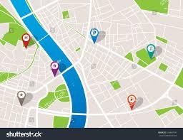 Studio City Map City Navigation Map Pins Stock Vector 516867646 Shutterstock