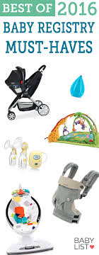 top baby registries best baby products of 2016