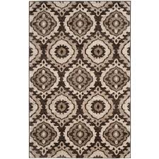 Brown And Grey Area Rugs Stylish Brown And Area Rugs Safavieh Tunisia 4 Ft X 6 Rug