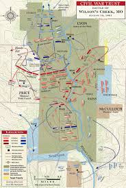 Map Of United States During Civil War by The Battle Of Wilson U0027s Creek August 10 1861 Civil War Trust