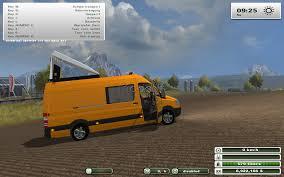 mercedes truck 4x4 mercedes sprinter 315 4x4 bf3 v1 modai lt farming simulator