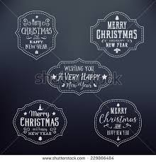 merry christmas abstract vector greeting card stock vector