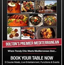 roka cuisine roka mediterranean restaurant and cocktail bar bolton menu