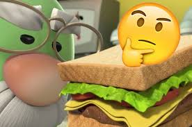 so are the vegetables in veggietales cannibals or what