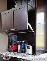 Cabinet Garage Door Kitchen Microwave Cabinet Appliance Doors Appliance Garage Door