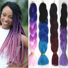ombre kanekalon braiding hair ombre kanekalon braiding hair synthetic 3 tone xpression braiding