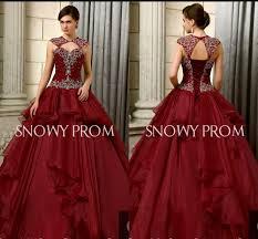 burgundy quince dresses online shop 2015 high neck burgundy quinceanera dress length