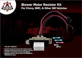 Christmas Gifts For Her 2015 Gmc Blower Motor Resistor Complete Kit With Harness Replaces 15 81773