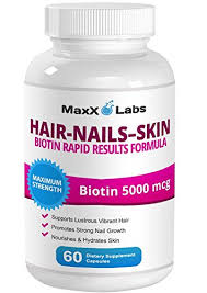 hair skin and nails vitamins u2013 biotin 5000 mcg potent formula