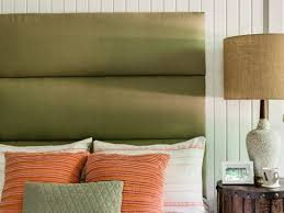 How To Make Headboard How To Make A Channeled Headboard How Tos Diy