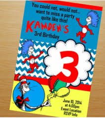dr seuss birthday invitations dr seuss theme party planning ideas supplies partyideapros