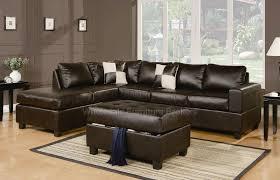 Sofa Warehouse Sacramento by Sacramento Espresso Leather Sectional Sofa Set S3net Sectional