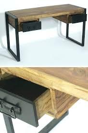 bureau industriel pas cher chaise atelier industriel bureau style atelier beau bureau