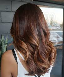 auburn brown hair color pictures auburn highlights in medium brown hair