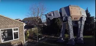 dad builds massive u0027star wars u0027 at act replica in backyard