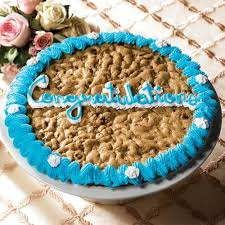 mrs fields cookie cakes mrs fields congratulations chocolate chip cookie cake free