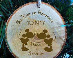 ornaments to personalize wood ornament etsy