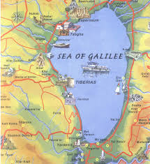 Seas Of The World Map by Mt Beatitudes Map Sea Of Galilee Ccf In Israel Jon U0027s Israel