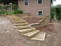 Backyard Steps Ideas Image Result For Garden Path Slope Landscaping