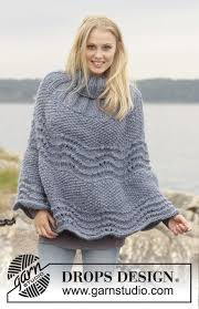 drops design poncho ronja drops 149 5 free knitting patterns by drops design