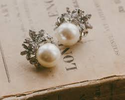 clip on pearl earrings vintage style pearl clip on earrings carrie jules