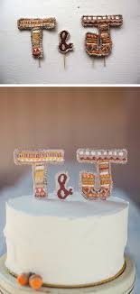 letter wedding cake toppers diy and customisable wedding cake toppers chic vintage brides