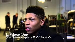 bryshere gray portrays hakeem lyon on fox television s empire