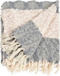 saro nubby design striped throw blanket reviews wayfair