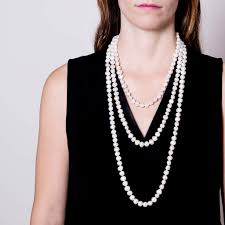length pearl necklace images Opera length baroque pearl necklace rebe new york jpg