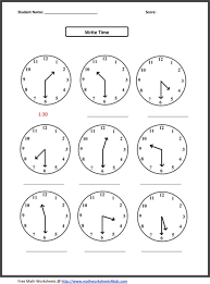 time to the nearest minute worksheets abitlikethis math telling sl
