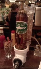 Dogfish Pumpkin Ale by Dog Fish Head Punkin Through The Randall With Cinnamon Sticks And