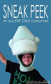 olaf costume for halloween sneak peek at our diy olaf costume