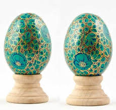 painted wooden easter eggs painted wooden easter eggs m s gulam hussan srinagar id