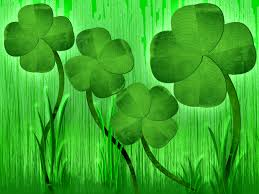 4 four leaf clover free wallpaper