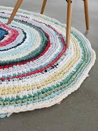 tappeti fai da te tutorial fai da te come fare un tappeto rotondo all uncinetto