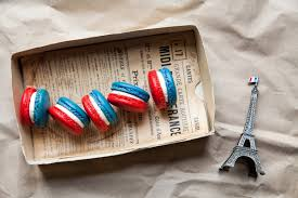 Image French Flag French Flag Macarons French Recipes Sbs Food