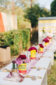 Backyard Wedding Ideas Epic And Eclectic Diy Backyard Wedding In Texas Junebug Weddings