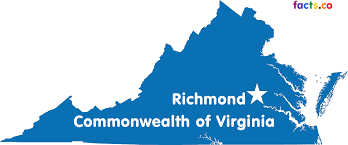 Map Of Richmond Virginia by Virginia Map Blank Political Virginia Map With Cities
