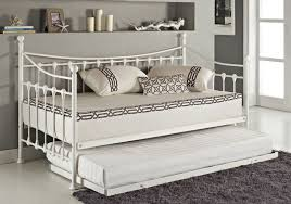 Wrought Iron Daybed Day Beds With Pop Up Trundle Photo On Remarkable Black Wrought