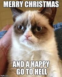 Grumpy Cat Memes Christmas - grumpy cat meme imgflip